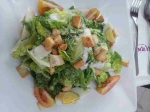 Caesar Salad (Plus grill chicken - Optional)