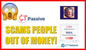 CT Passive Scams People Out Of Money