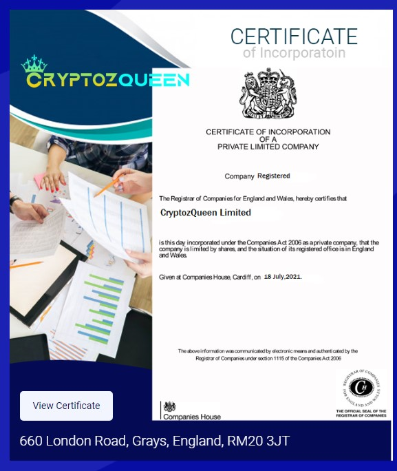 Cryptozwqueen Limited