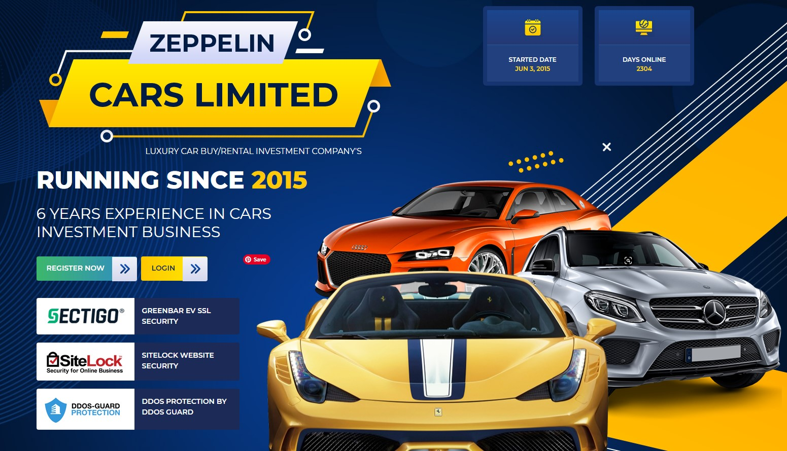 Zeppelin Cars Limited scam