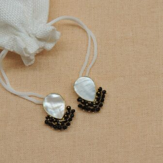 Casual Wear MOP Gold Plated Studs 1