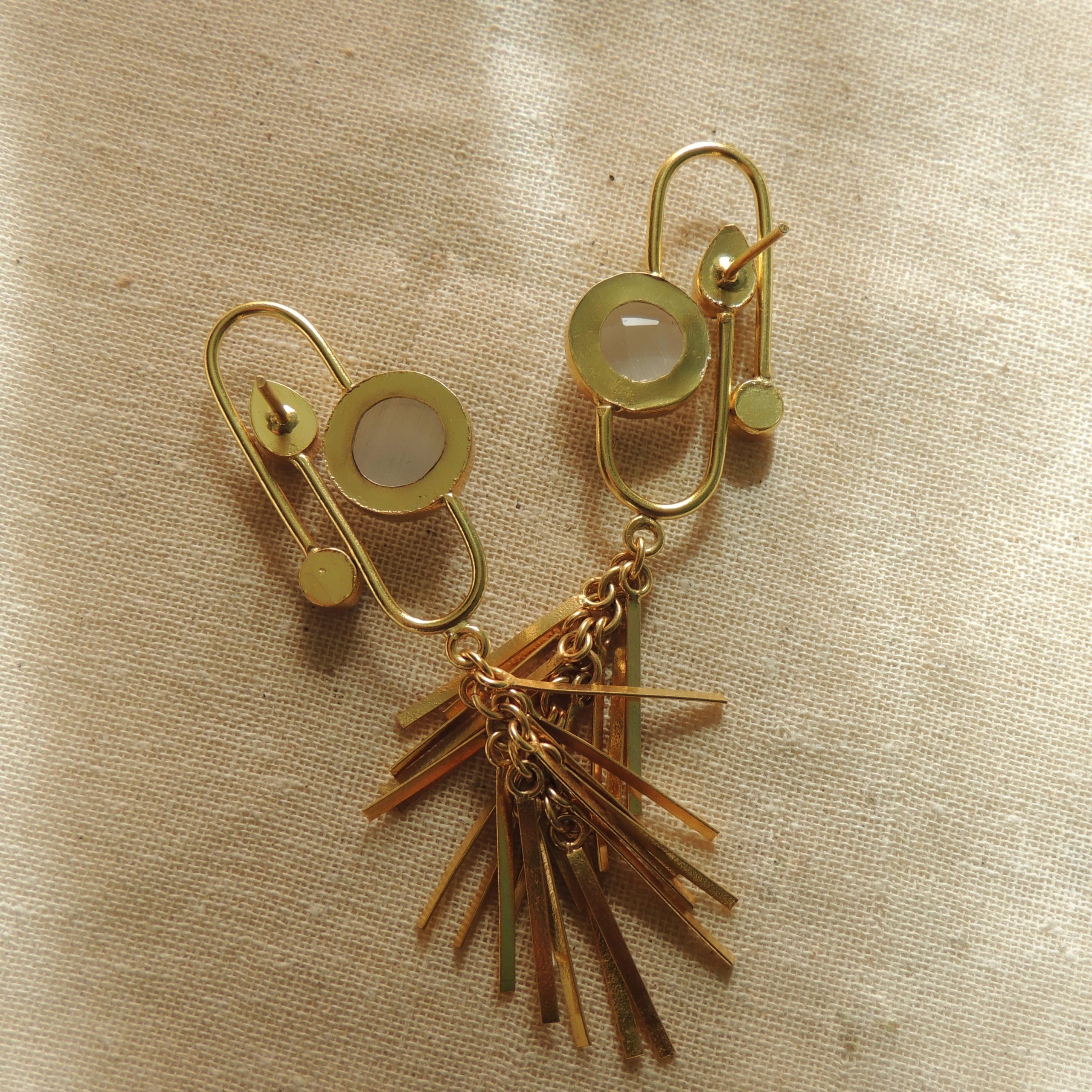 Indo-Western Charms Statement Earring 2