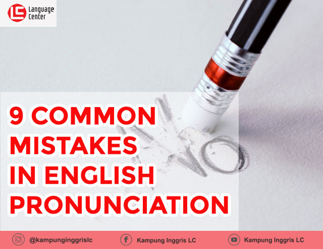 common mistakes in english pronunciation