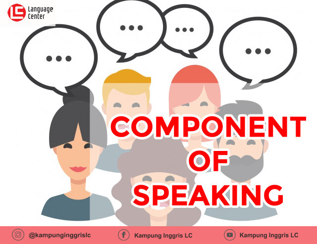 component of speaking