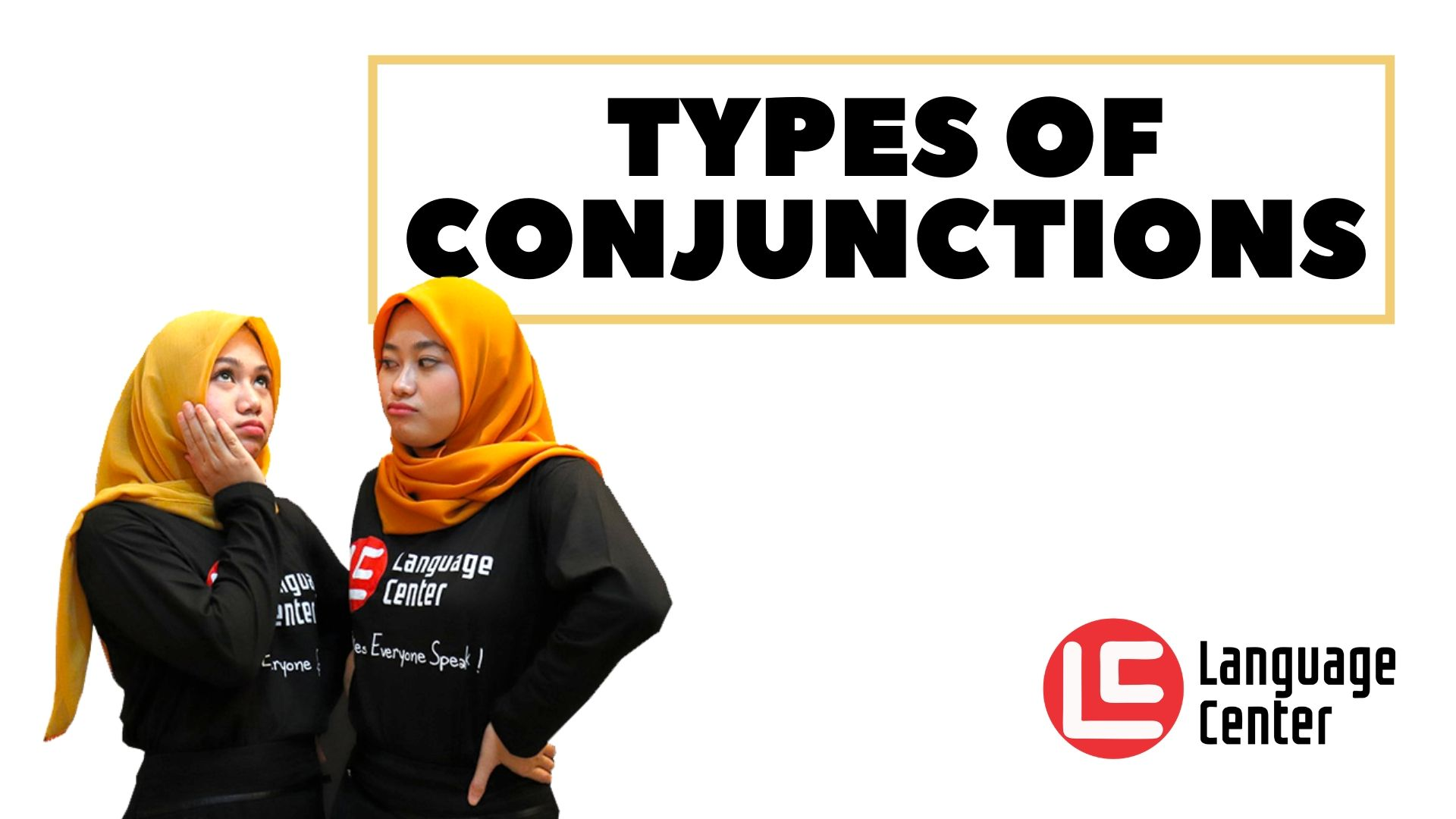 types of conjunctions