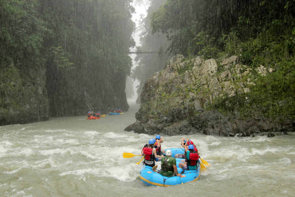 Pacuare River White Water Rafting Kated
