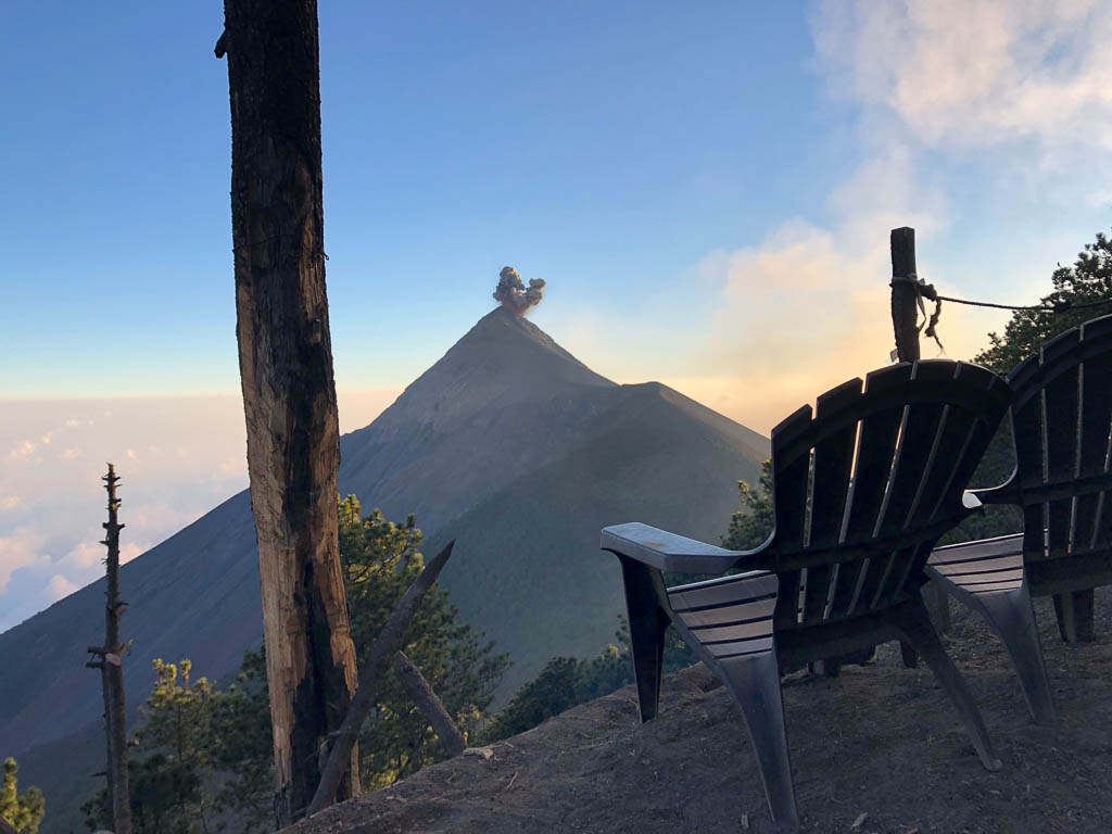 View From the Campsite, Acatenango