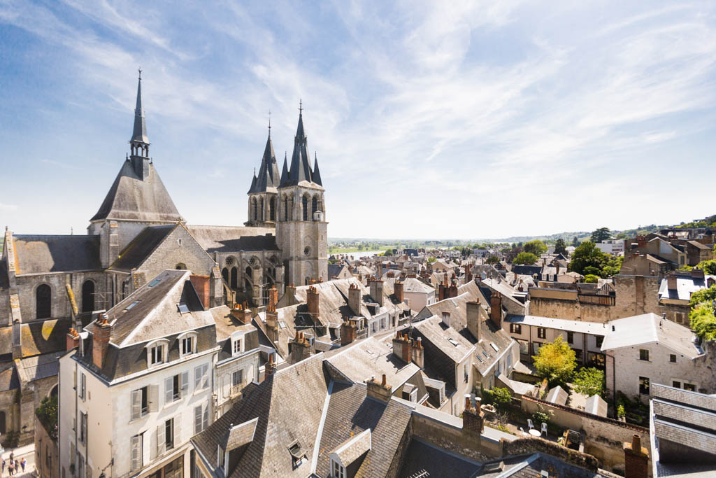View from the Blois Castle