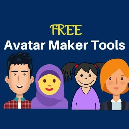 12 Avatar Maker Tools Cartoon Photos Kids N Clicks