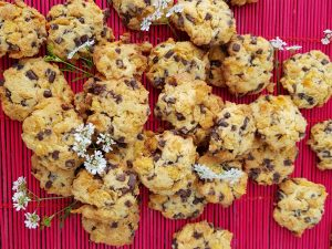 Cornflakes chocolate chips cookies