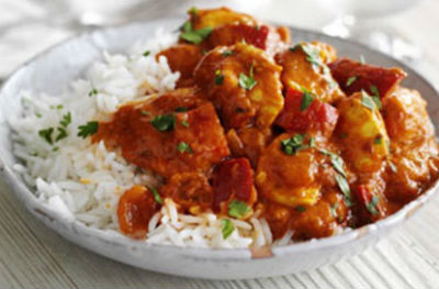 Curry de Pollo Tikka Masala