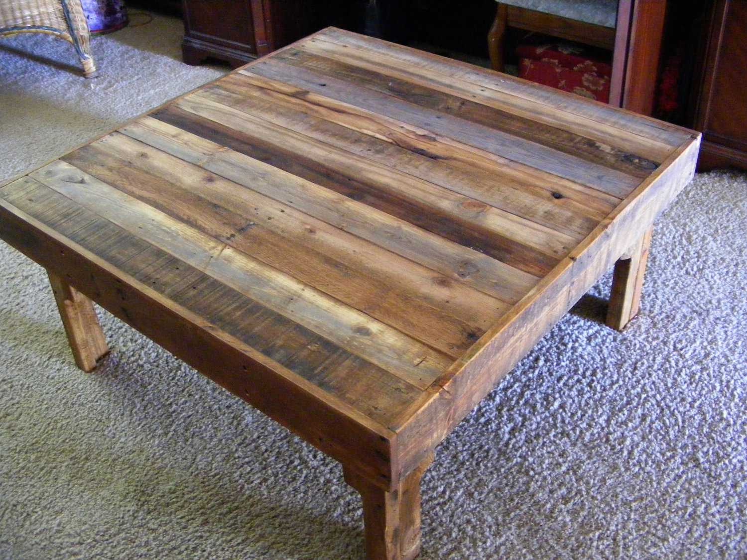 Extra Large Square Coffee Tables Royals Courage Rustic Square