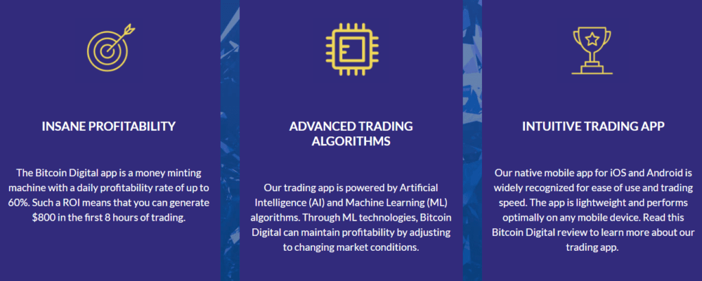 bitcoin digital trading features