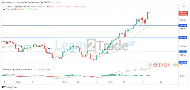 USDJPY rally continues