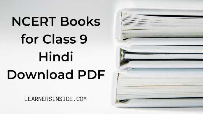 NCERT Book for Class 9 All Hindi Books Download pdf - Learners Inside