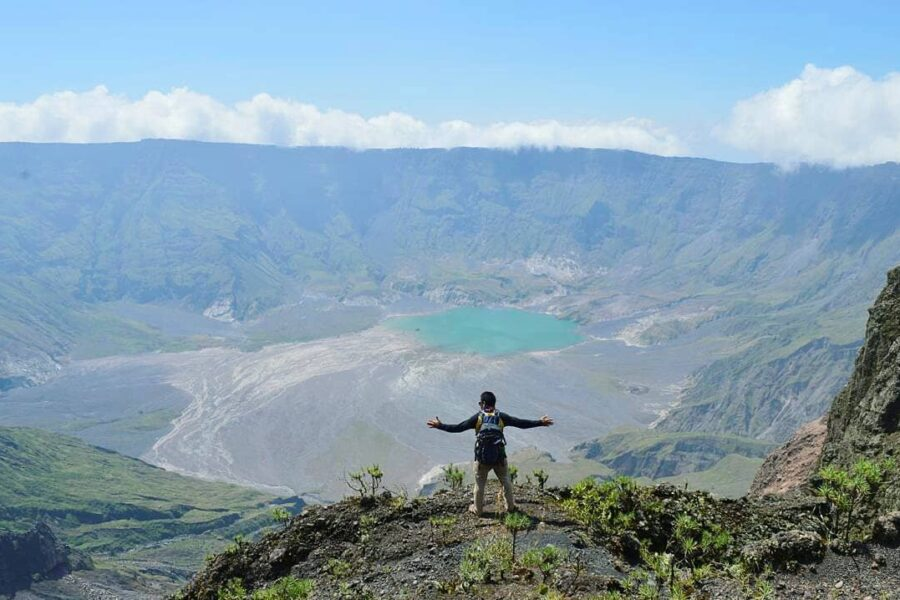 #explorebima Photo today by  taken at Mt Tambora...