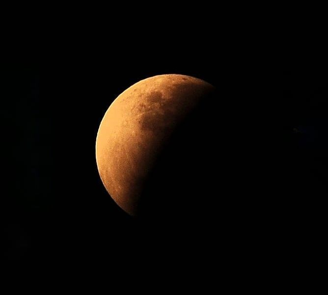 Today's eclipse,the last lunar eclipse of 2019 nicely captured by  from  - Did ...