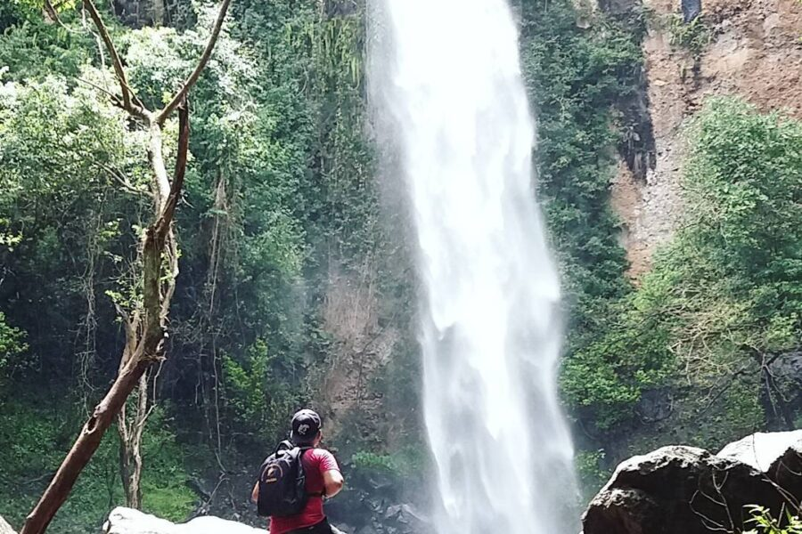#explorebima Photo today by  taken at Riamau Waterfall Wawo  #exploreindonesia...