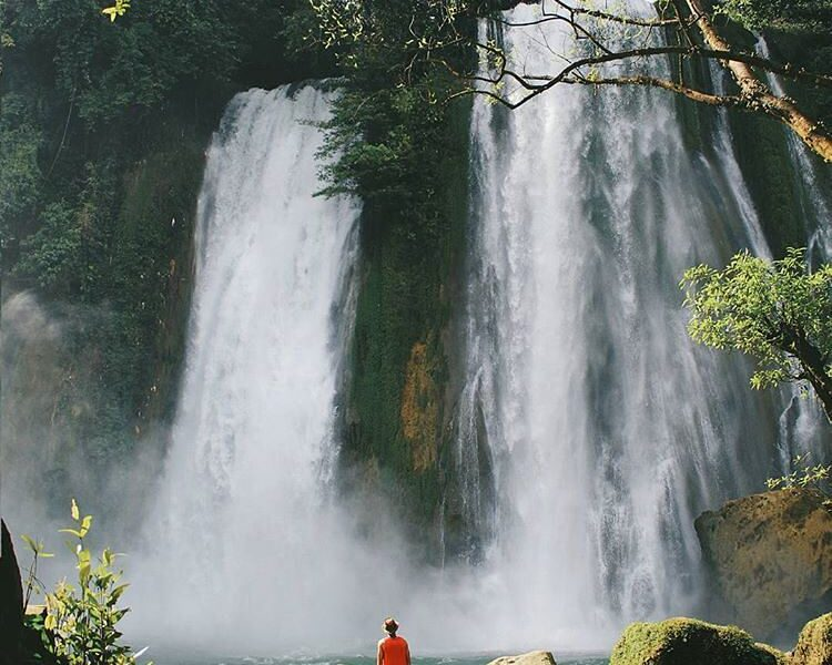 Weekend is just around the corner, Happy Friday!  Photo by  taken at Curug Cikas...
