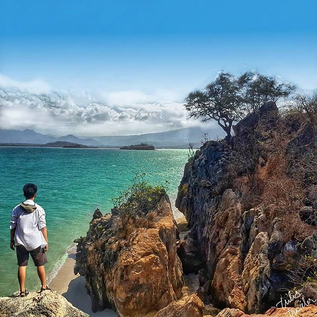 #explorebima Photo today by  taken at Bajo Pulo Sape  #exploreindonesia #indones...