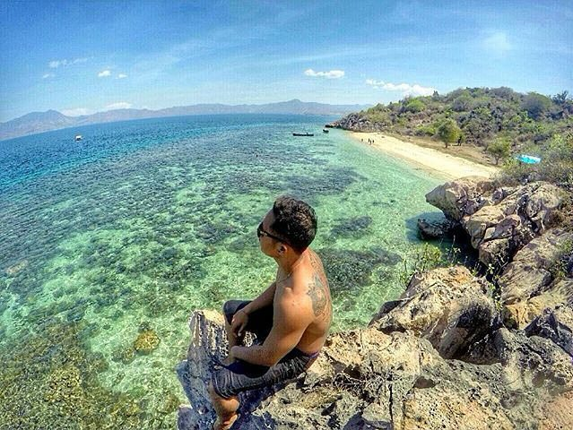 #explorebima Photo today by  taken at Santigi Beach Sape  #exploreindonesia #ind...