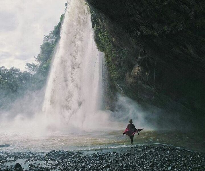 #exploresukabumi today's featured photo is taken by  at Curug Sodong, #ciletuhna...