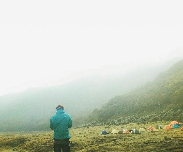 Fall in love with this  #exploresukabumi camp vibes at Alun-alun Surya Kencana, ...