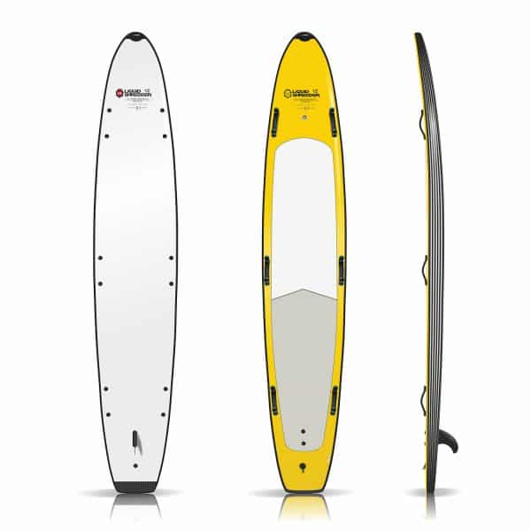 12ft lifeguard rescue surfboard