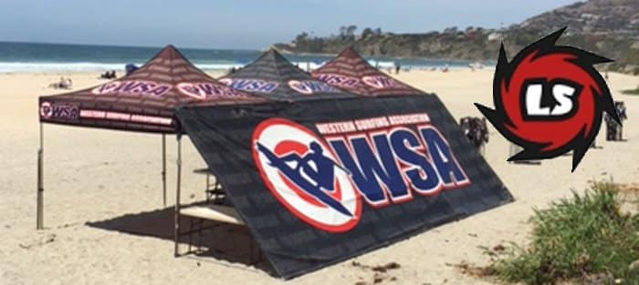 Western Surfing Association WSA Surf Contest