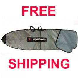SUP Paddleboard Padded Travel Bags - 9ft 6in Wide - Liquid Shredder