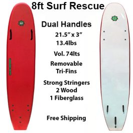 8ft Surf Rescue Surfboard