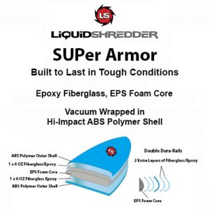 SUPer Armor Paddleboards Epoxy ABS SUPs Paddleboards Epoxy ABS plastic