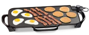 Presto Electric Griddle with Removable Handles, 22-inch