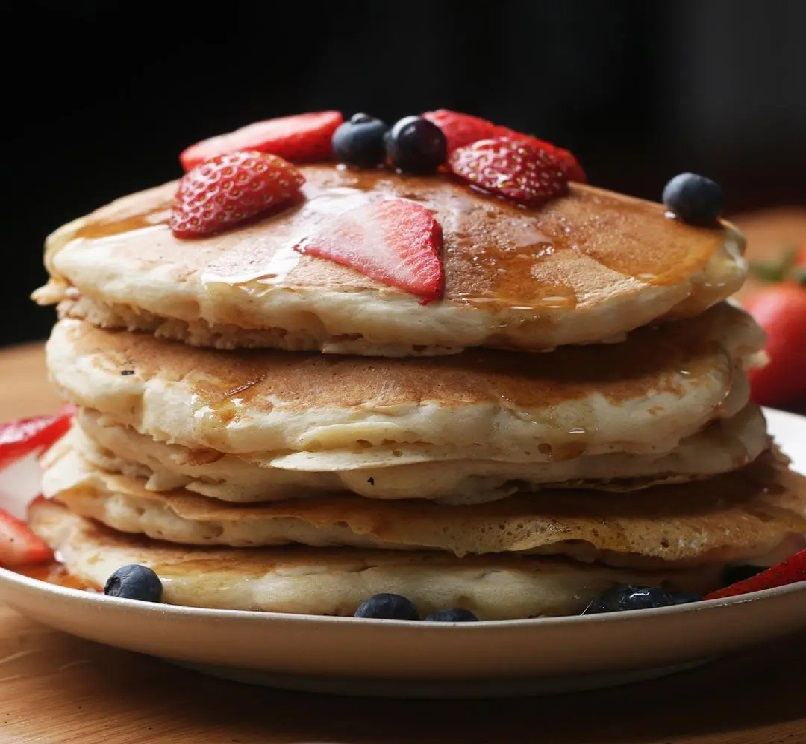 Try to make Vegan Pancakes in your free time