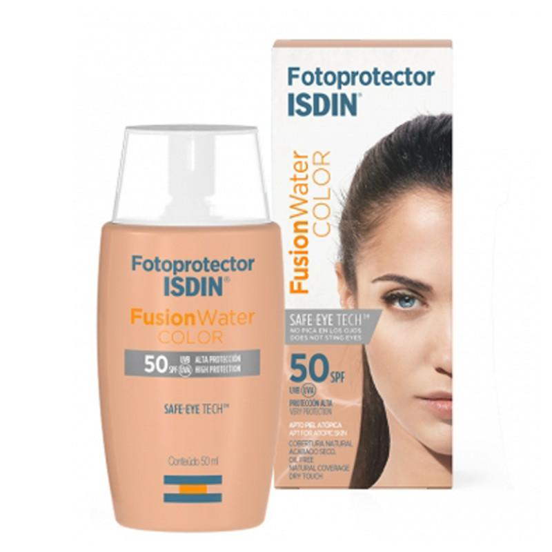 Isdin Fotoprotector Fusion Water Color Spf50 Tinted Sun Protection