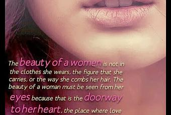 Poems About Beautiful Woman 5