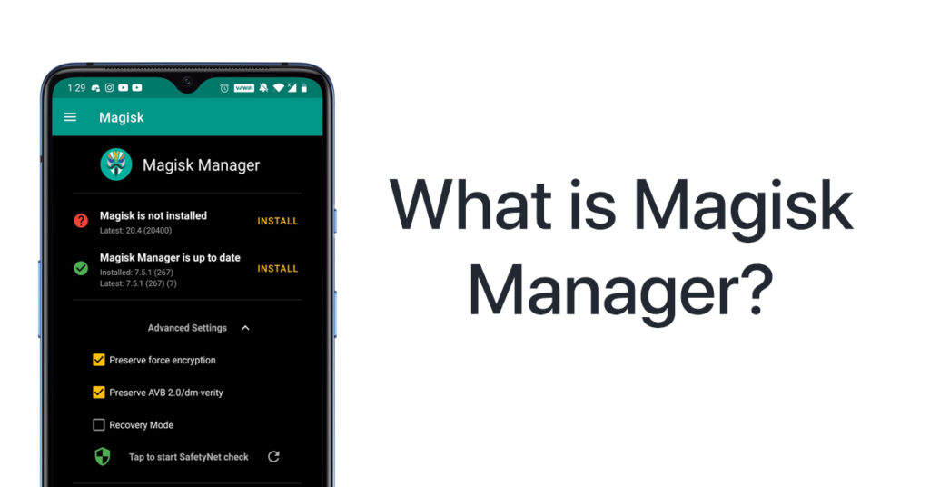 What is Magisk Manager App