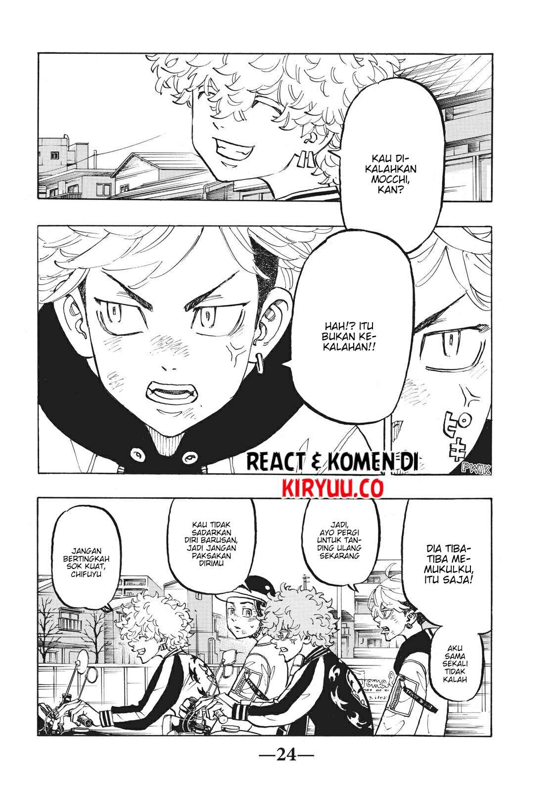 Tokyo Revengers Chapter 127 Bahasa Indonesia page 5
