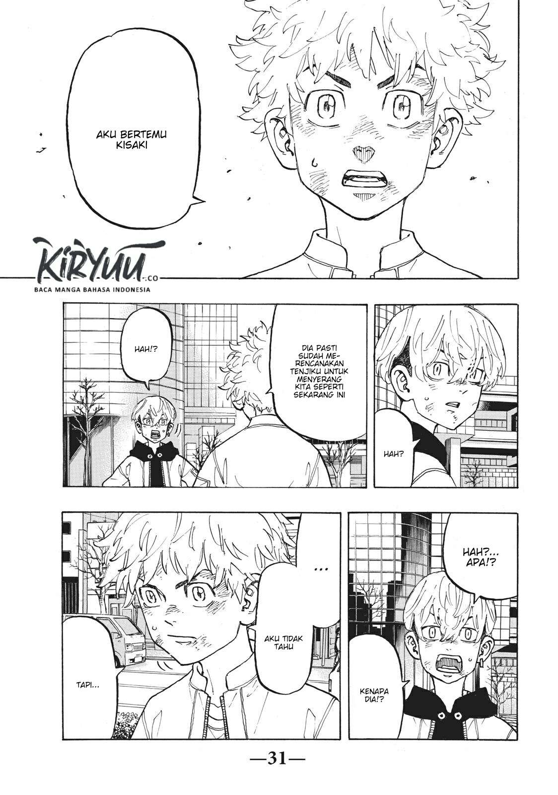 Tokyo Revengers Chapter 127 Bahasa Indonesia page 19