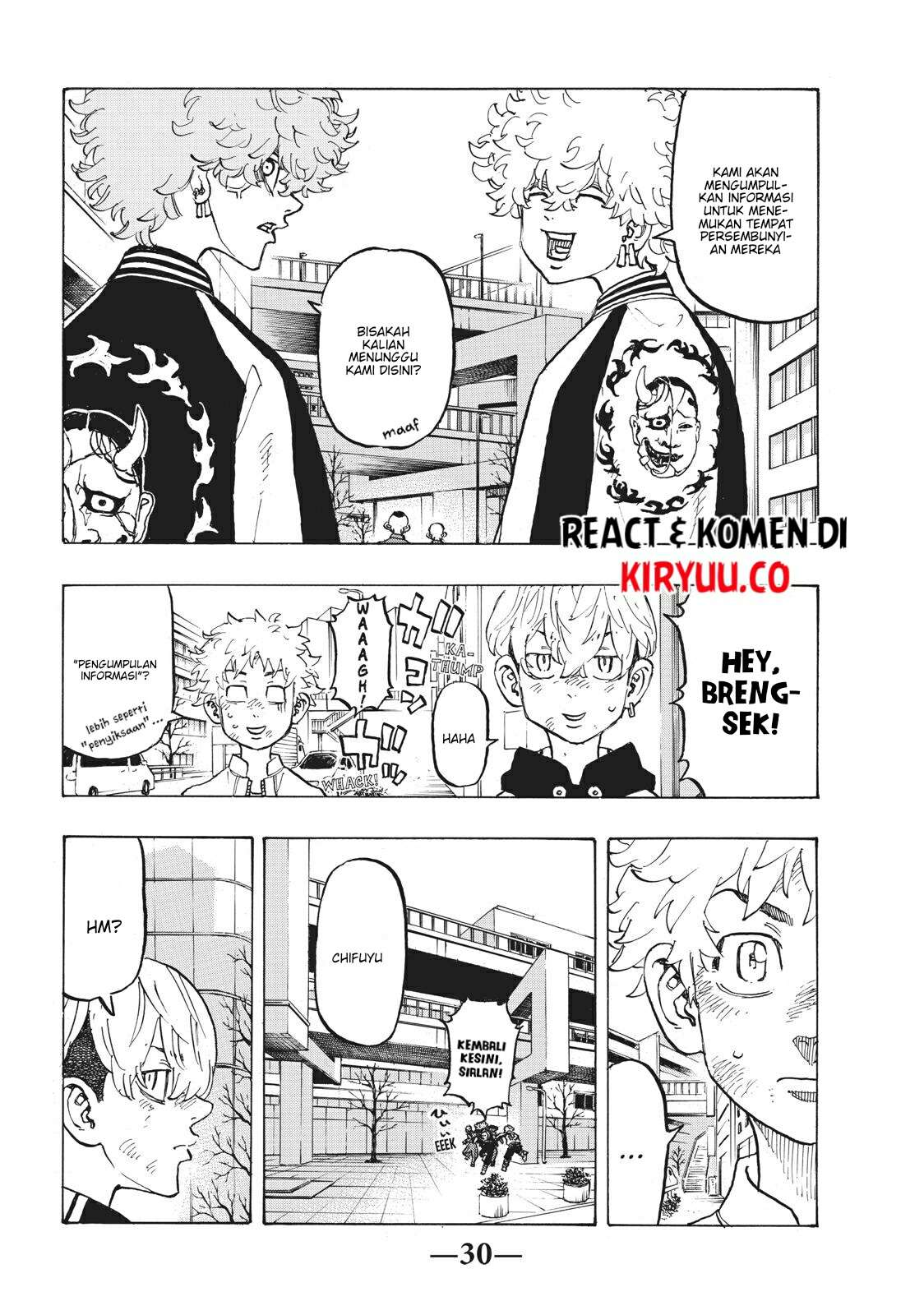 Tokyo Revengers Chapter 127 Bahasa Indonesia page 17