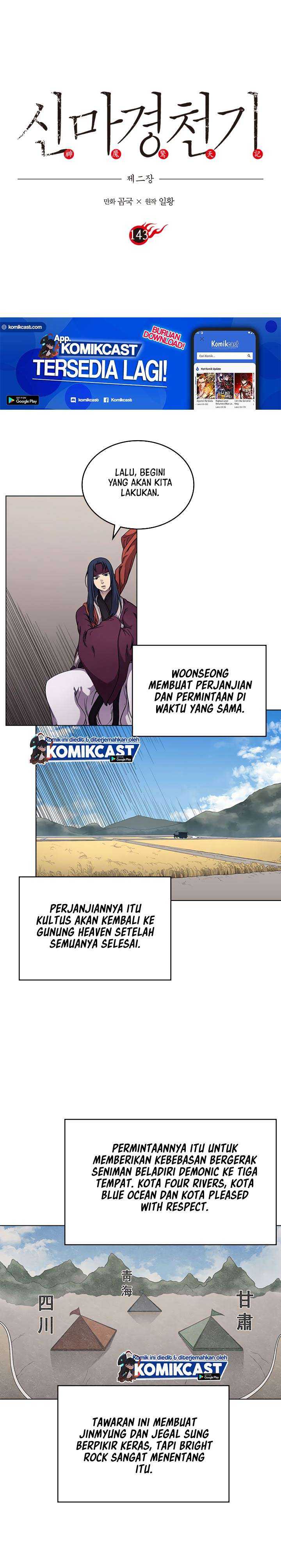 Chronicles of Heavenly Demon Chapter 143 Bahasa Indonesia page 3