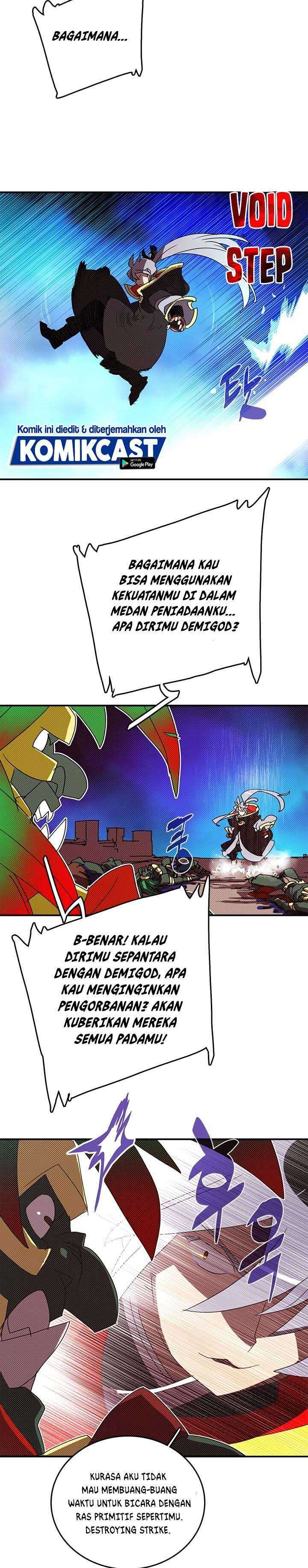 I Am the Sorcerer King Chapter 139 Bahasa Indonesia page 23