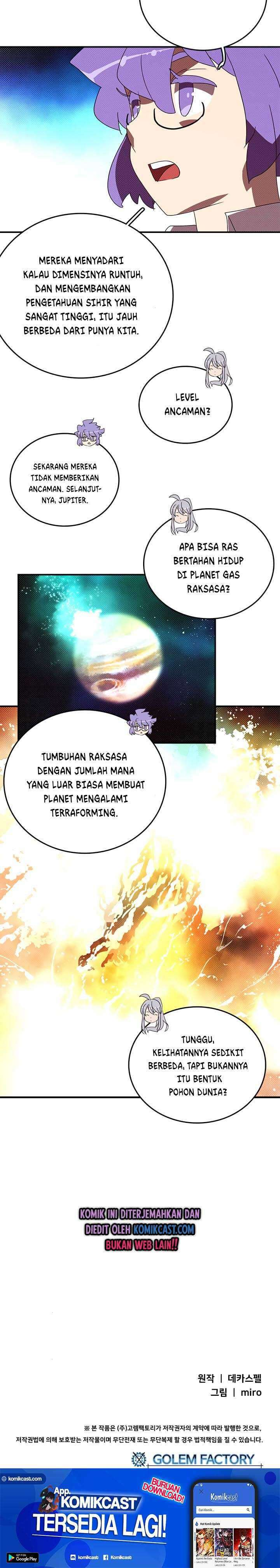I Am the Sorcerer King Chapter 139 Bahasa Indonesia page 37