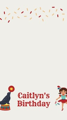 Free Birthday Snapchat Geofilters Templates To Customize Canva