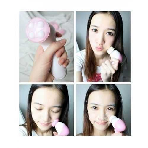 As Seen On Tv 5-In-1 Beauty Care Massager For Face &Amp; Body - White/Pink 1
