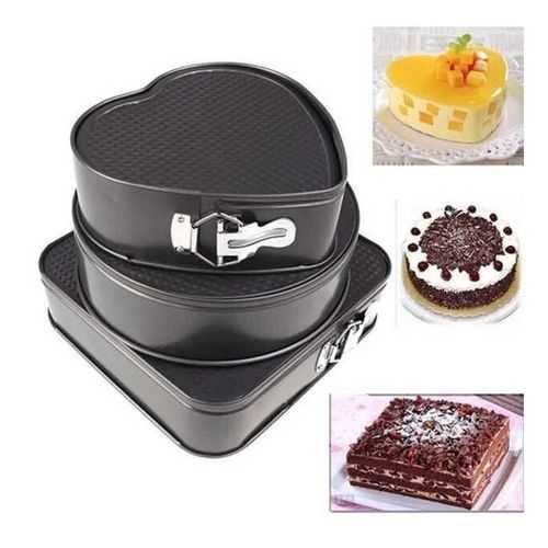 As Seen On Tv Cake Mould - 3 Pcs 1