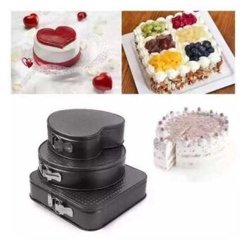 As Seen On Tv Cake Mould - 3 Pcs