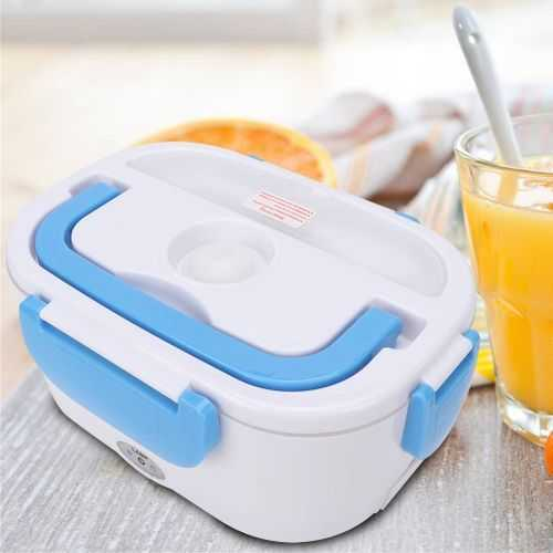Portable Double Layer Electric Heating Lunch Box - 1Pcs 1