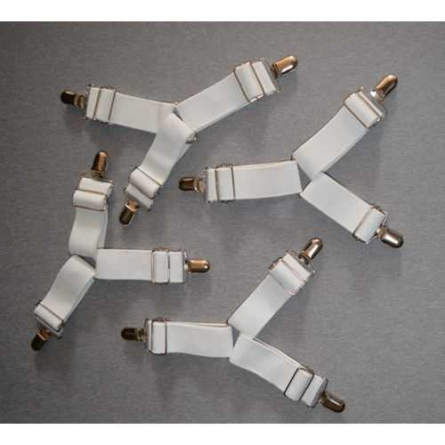 Sheet Grippers - 4 Pcs - White 3