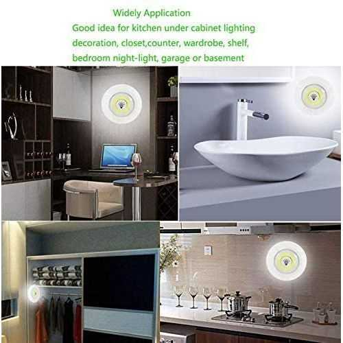 03 Led Spotlights With Remote Control - 3 Pcs 1